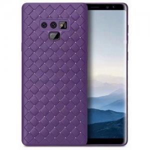 Case for Samsung Galaxy Note 9 Cover PC Hard Back Cover - PURPLE IRIS