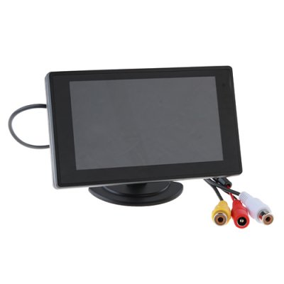 4.3 Flat DVR Car Rearview LCD Monitor for Reverse Backup Camera