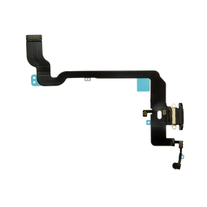 iPhone XS Charging Port Flex Cable - Space Gray