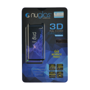 NuGlas Tempered Glass Screen Protector for Samsung Galaxy S9+ (3D)