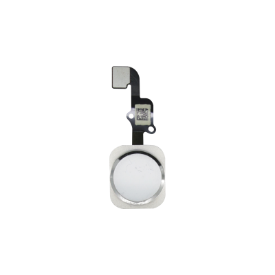 iPhone 6s and 6s Plus Home Button Assembly - White/Silver