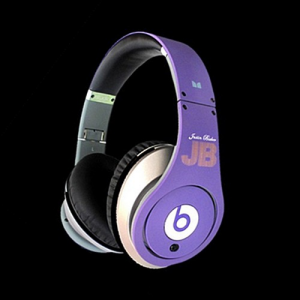 Beats By Dr Dre Justin Bieber Limited Edition Headphones