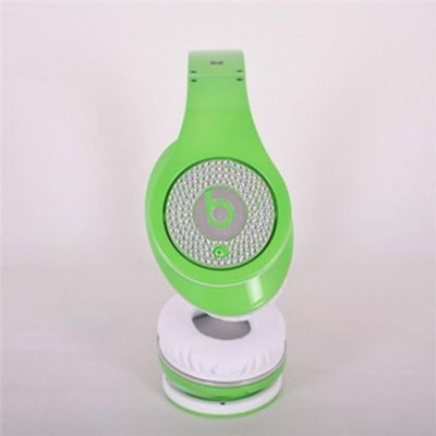Beats By Dr. Dre Studio Limited Edition Green With Diamond