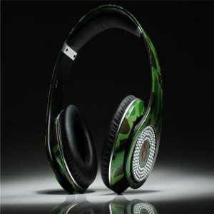 Beats Studio Headphones Camouflage With Diamond Edition