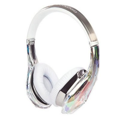 Monster Diamond Tears Hi-Definition On-Ear Headphones Crystal