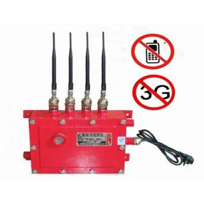 Oil Depot, Gas Station Waterproof Blaster Shelter Cell Phone Signal jammer