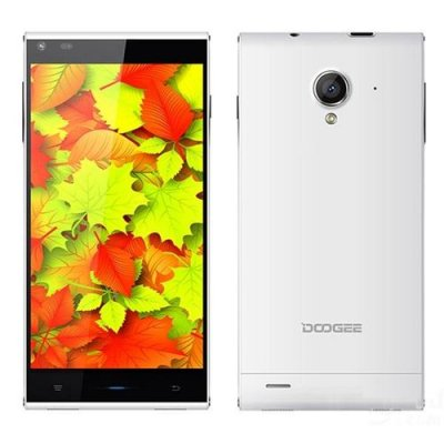 DOOGEE DAGGER DG550 Smartphone 5.5 inch HD OGS Screen MTK6735 Octa-Core Android 9.1 - White