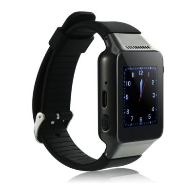 ZGPAX S39 Smart Watch Phone 1.54 Inch Touch Screen Bluetooth Camera FM - Black