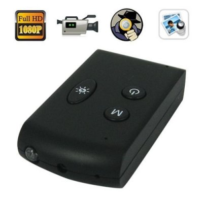 1920 x 1080P Mini SPY DVR with Pinhole Camera Support Recording + TV-Out