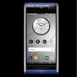 Vertu Aster Stingray Blue Clone Android 9.1 Snapdragon 821 4G LTE luxury Phone