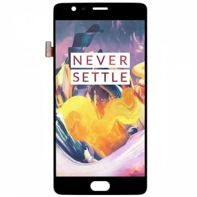 Original ONEPLUS Touch LCD Screen for One Plus 3T - BLACK