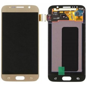 Mobile Phone LCD Screen for Samsung S6 - CHAMPAGNE GOLD