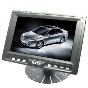 7 Inch Digital TFT LCD Mini TV with Wide View Angle + No Radiation