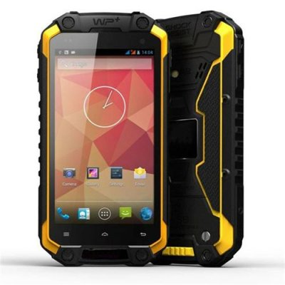 Mofifox J5 Smartphone 4.5'' HD Screen IP68 Dustproof Shockproof Waterproof Android 9.1 3G GPS - Yellow