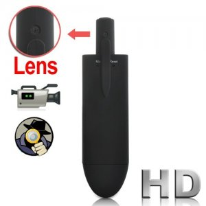 Stylish HD 1280 x 720 Pocket DVR with Spy Hidden Camera with 0.1Lux