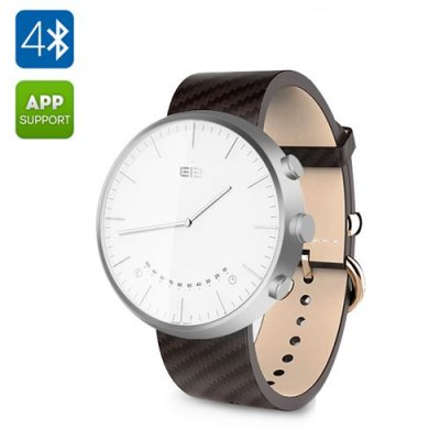 Elephone W2 Smart Watch – Free Android App, 30ATM Water Resistant, Fitness Trackers, Bluetooth (Silver)