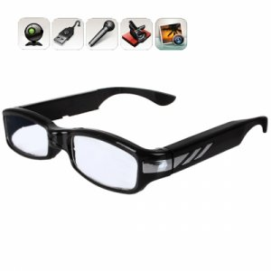 1920*1080 Resolution HD Multi-Function Video Glasses with Motion Detecting Videotape Function