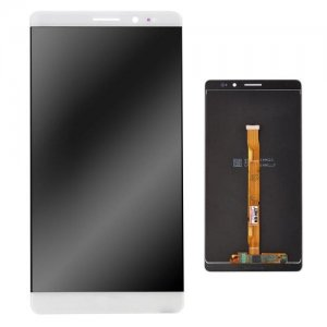 LCD Touch Screen Replacement Digitizer Display Phone Case for HUAWEI Mate 8 ( White ) - WHITE