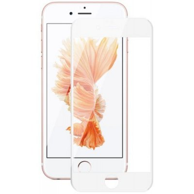 Hat - Prince 6D 0.26mm 9H Tempered Glass Full Screen Protector for iPhone 6 - 6S - WHITE