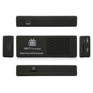 MK808B Mini Android TV Box TV Dongle Andriod PC Anroid 4.2 RK3066 Dual Core 1G 8G Bluetooth TF