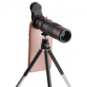 22 Times Phone General External Telephoto Telescope - BLACK