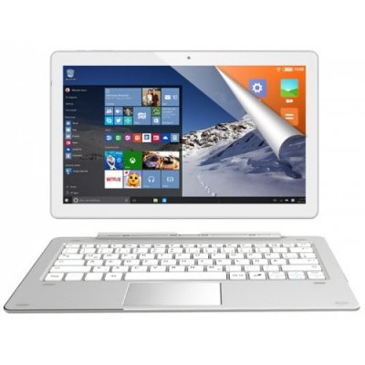 ALLDOCUBE iWork 10 Pro 2 in 1 Tablet PC with Keyboard - MILK WHITE