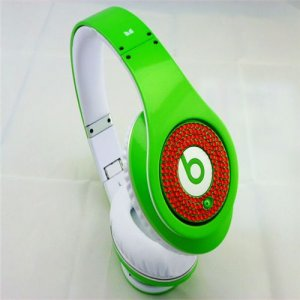 Beats Studio Headphones Green With Red Diamond Edition