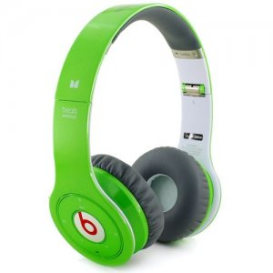 Beats By Dr Dre Solo Wireless Bluetooth Over-Ear Green Headphones