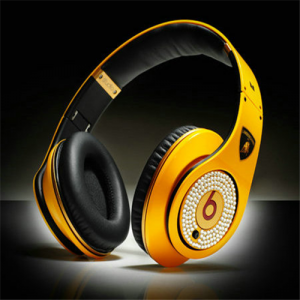 Beats By Dr Dre lamborghini Limited Headphones with Diamond