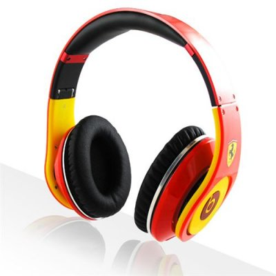Beats By Dre Studio Ferrari Beats Limited Edition Red Yellow