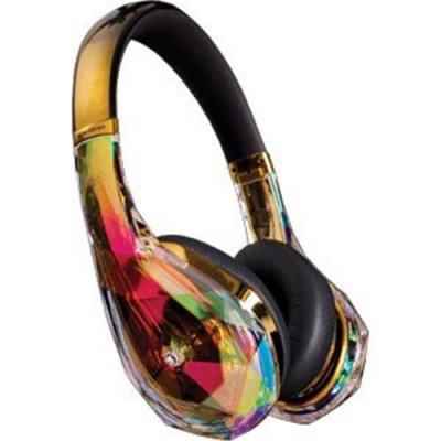 Monster Diamond Tears Edge Gold Headphones