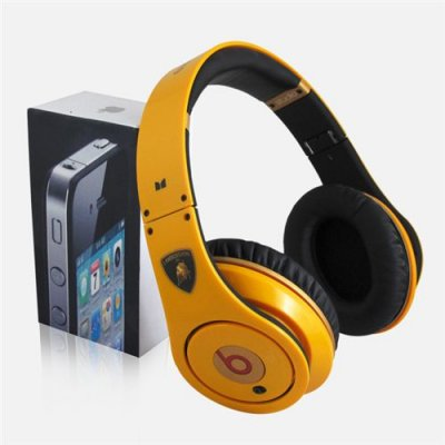 Beats By Dre Studio Lamborghini High Definition Powered Isolation Headphones Limited Edition