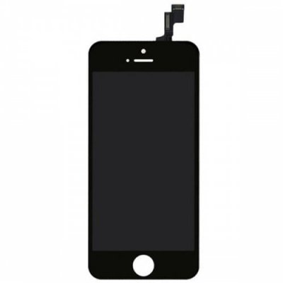 Black Screen Assembly for iPhone 5S - BLACK