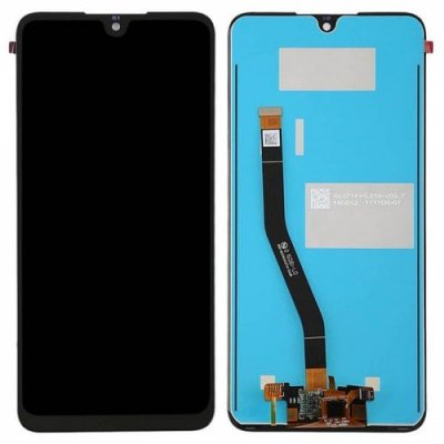 LCD Phone Screen Digitizer Full Assembly for Huawei Honor 8X Black - BLACK