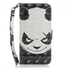 Panda Leather Phone Case for iPhone XR - MULTI