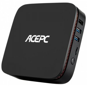ACEPC GK1 Intel Gemini Lake J4105 4GB DDR4 + 32GB ROM Mini PC - BLACK
