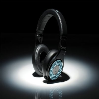 Beats Professional Detox Limited Version Substantial Performance Expert Headphones Black With Blue Diamond