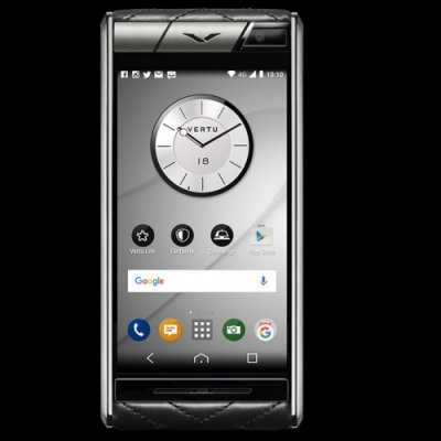 Vertu Aster Quilt Black Clone Android 9.1 Snapdragon 821 4G LTE luxury Phone