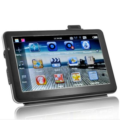 Car SatNav with DVR - 7 Inch Touchscreen, 2x 4 GB Micro SD Card Included