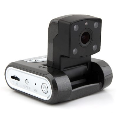 E-101 Mini HD 1280*720 Car DVR Night Vision Black