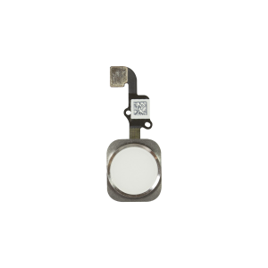 iPhone 6 Plus Home Button Assembly - White/Silver
