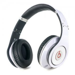 Beats By Dr Dre Studio Wireless Bluetooth Over-Ear White Headphones