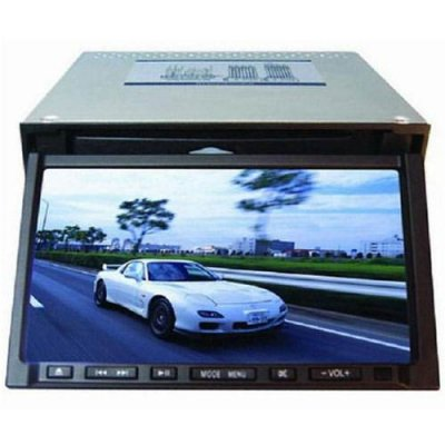Double Din Remote Control 7 Inch Car DVD Player with TV Tuner