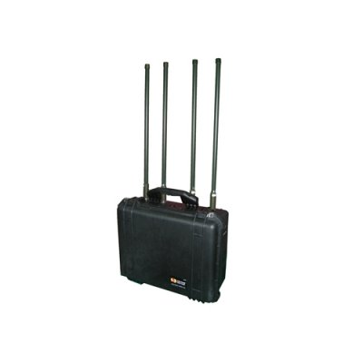Powerful 3G Remote Control Mobile Phone Jammer for Military