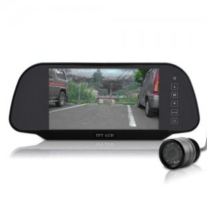 7 Inch High Definition Rear View Monitor + Rear View Camera - 800x480, 4:3, 16:9