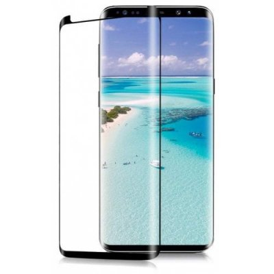 For Samsung Galaxy S9 Curved Version of Tempered Film - BLACK