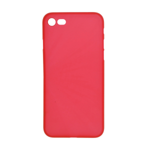 iPhone 7/8 Ultrathin Phone Case - Frosted Red
