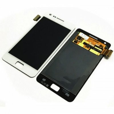 LCD Screen Digitizer Assembly Replacement for Samsung Galaxy S2 - WHITE
