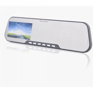 "X888B 2.7"" LCD 140 Wide-angle HD Rearview Mirror Car Camera DVR"