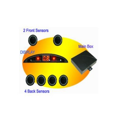 RD028C6 Mini-LED Display Parking Sensor
